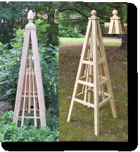 Plans For A Cedar Obelisk | Share Photos : Woodworking Showdown:80 .